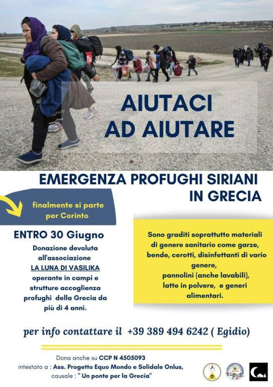 Aiuti profughi