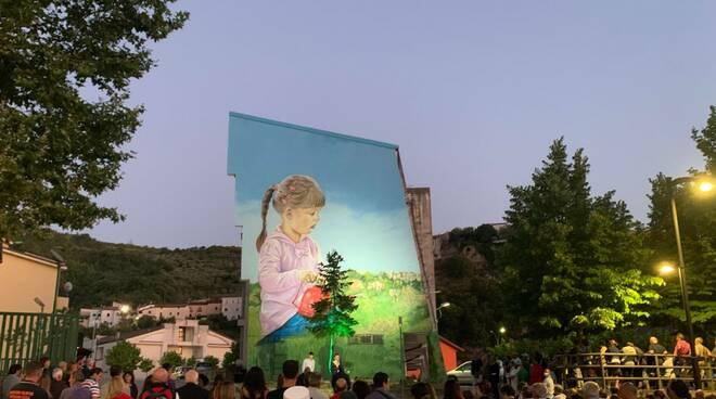 Inaugurazione murale a Vietri di Potenza
