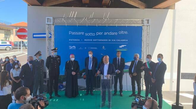 Inaugurazione sottopasso Via Calabria