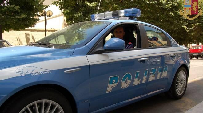 Volante Polizia Matera