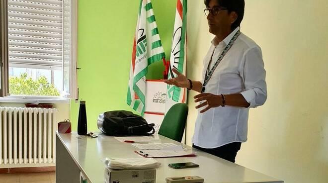 Riunione delegati Fim Cisl