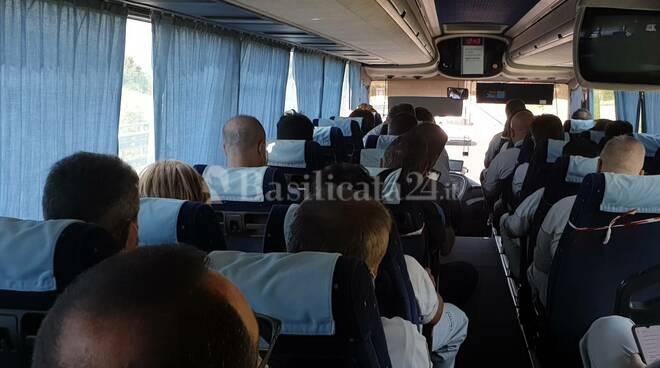 Autobus lavoratori San Nicola di Melfi
