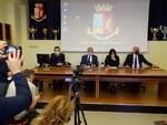Conferenza stampa arresti stupro