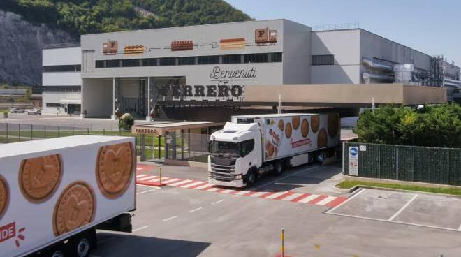 Stabilimento Ferrero di Balvano
