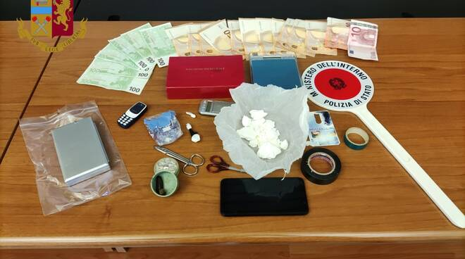 Droga sequestrata e Polizia Matera