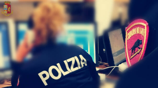 Polizia, sala operativa