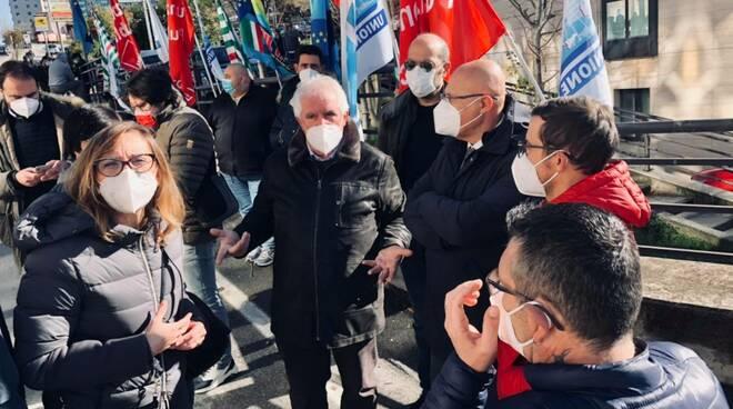Presidio sindacati