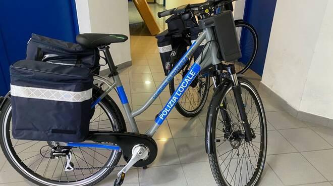 Bici elettrica Polizia locale Potenza