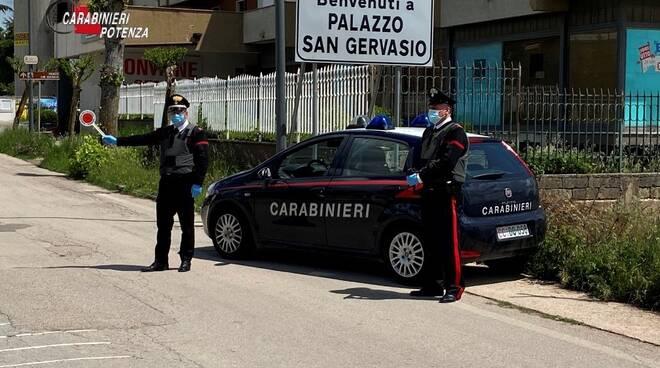 Carabinieri Palazzo San Gervasio