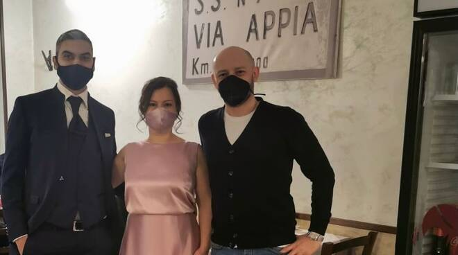 Donata e Antonio sposi