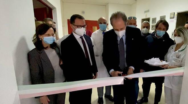 Inaugurazione ospedale Pescopagano