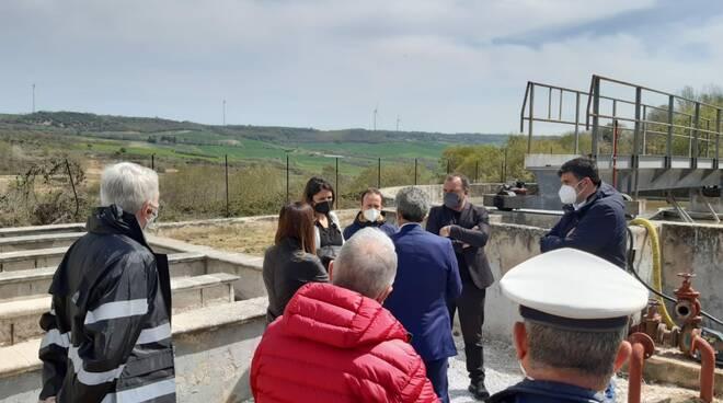 Sopralluogo M5S depuratore Genzano di Lucania