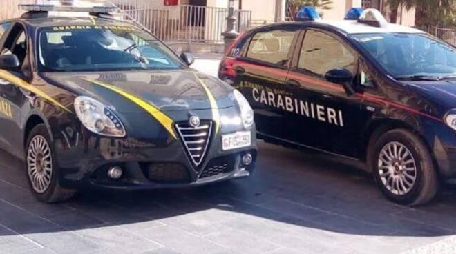 Finanza e carabinieri