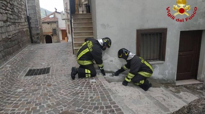 Fuga gas Vigili del Fuoco