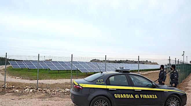 guardia di finanza fotovoltaico