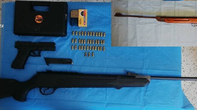 Arma sequestrata