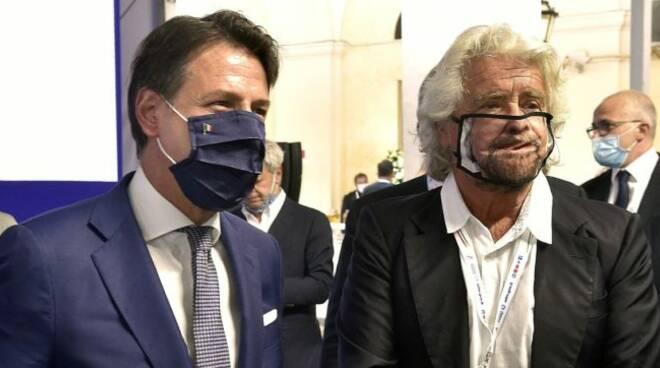 Grillo e Conte (Foto: Il Fatto Quotidiano)