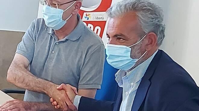 Don Cozzi e procuratore Curcio