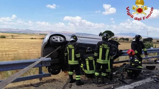 incidente venosa vigili del fuoco