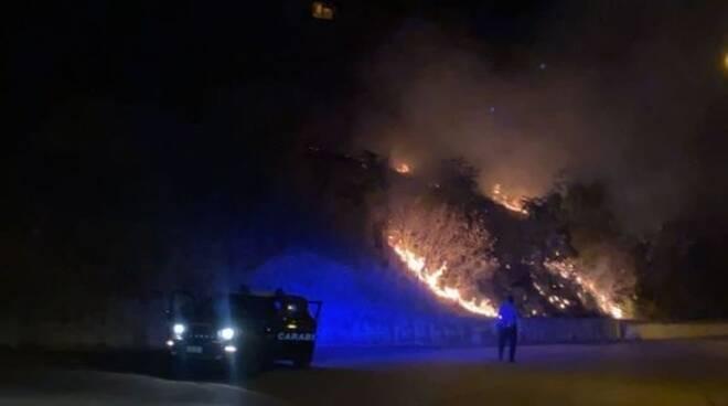 Incendio Avigliano