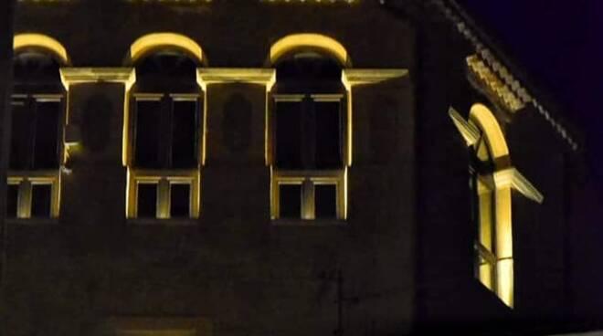Uno scorcio del castello di Savoia di Lucania