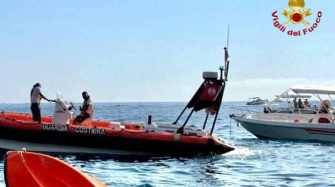 Vigili del Fuoco soccorso in mare