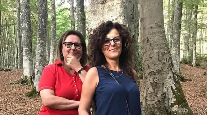 Anna Bruno e Anna Maria Malaspina