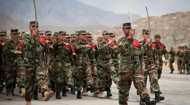 Forze di sicurezza Afghane