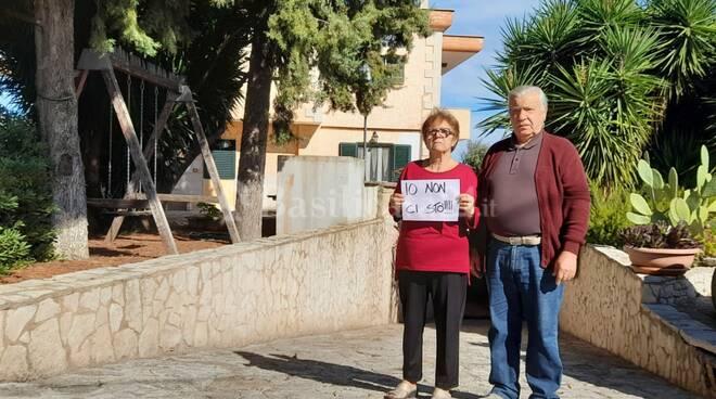 Teresa Cataldo e il marito